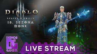 Diablo 3 - Monk - Začíná 18. sezóna | 🔴LIVESTREAM🔴 CZ/SK 1080p60fps