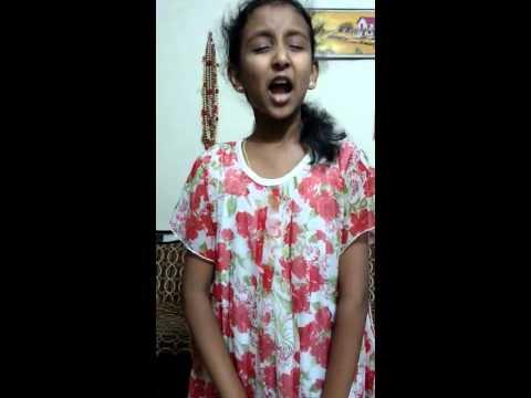 Sweet little singing angel Niharika