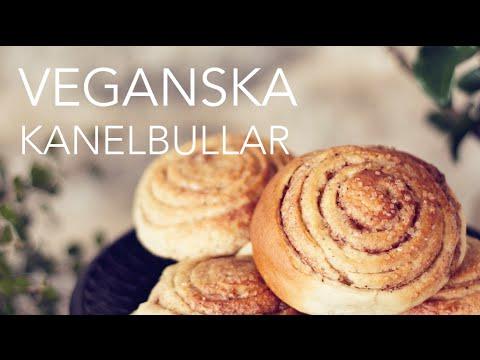 Veganska Kanelbullar – Vegan cinnamon buns/rolls