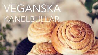 Veganska Kanelbullar - Vegan Cinnamon Buns/rolls