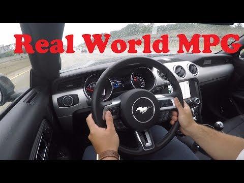 2016 Mustang GT MPG - Real World