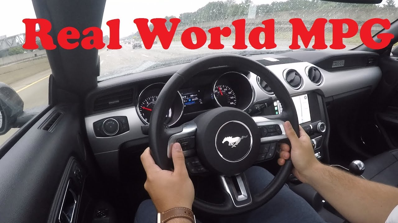 2016 mustang gt mpg real world youtube 2016 mustang gt mpg real world