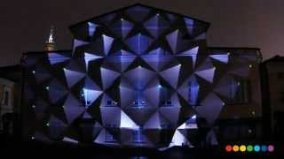 Visionquest / TROYKA MULTISPACE Building projection by Radugadesign