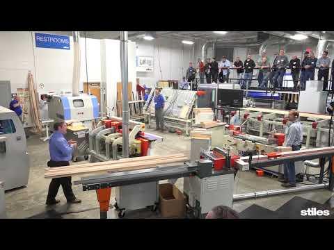 Kitchen Cabinet Door Cell Demonstration | Stiles Manufacturing Solutions Seminar