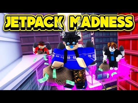 JETPACK MADNESS IN JAILBREAK! (ROBLOX Jailbreak)