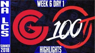 Video CG vs 100 Highlights | NA LCS Summer 2018 Week 6 Day 1 | Clutch Gaming vs 100 Thieves download MP3, 3GP, MP4, WEBM, AVI, FLV Agustus 2018