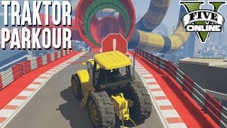 NEUES TRAKTOR SPEED RENNEN ★ GTA 5 Custom Map (+Download) ★ GTA Online LPmitKev