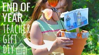 TUTORIAL: End of year teacher gift DIY for 2019 | DIY Teacher Gift | Teacher Gift Ideas | Dollar DIY