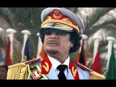 Rise and fall of Gaddafi