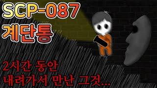 [SCP-087 계단통] 끝이 없는 계단을 내려가다 생긴 사건