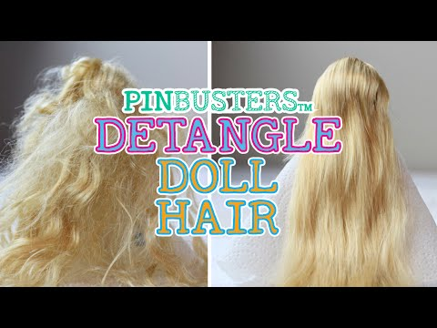 How To Detangle Doll Hair Testing Another Pinterest Pin Youtube