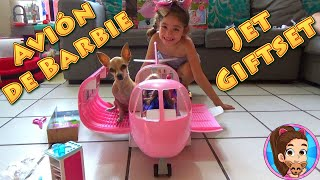 Download AVIÓN DE BARBIE | JET DE LUJO | JET GIFTSET | COFFRET AVION | AVIAO DE LUXO | UNBOXING // YESLY Mp3 and Videos