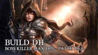 diablo 3 pl build dh boss killer build max dps patch 2 5 0