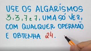 🔥 HELP MATEMÁTICA BÁSICA - Descubra a Expressão #251