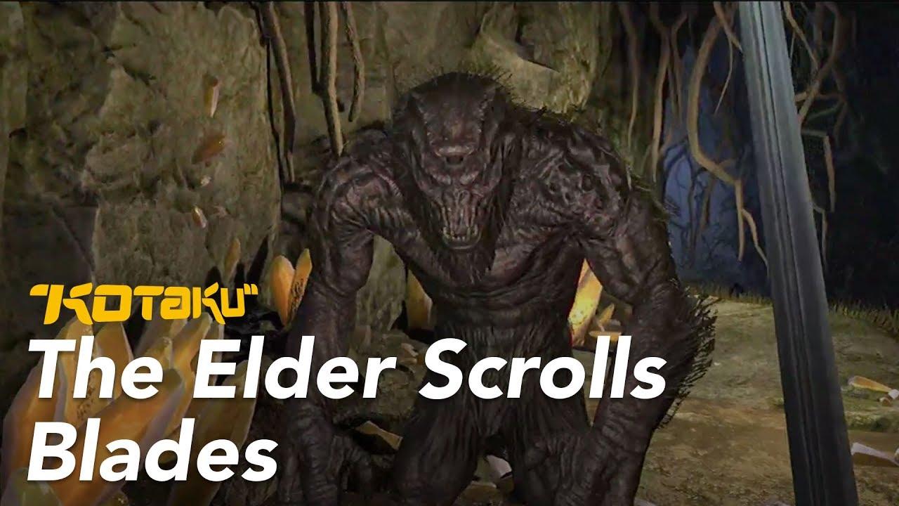 The Elder Scrolls Blades Presentation, E3 2018
