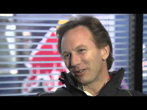 F1 2013 - Red Bull Racing - Interview with Christian Horner (Barcelona tests)