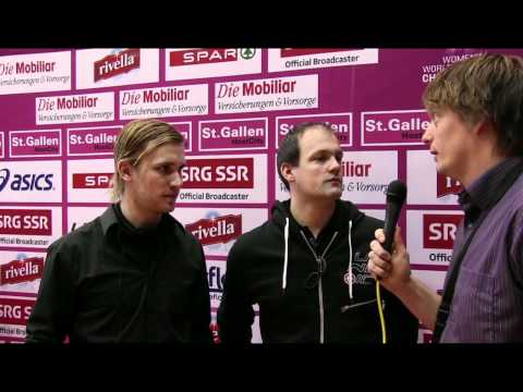 GER-LAT post game interview