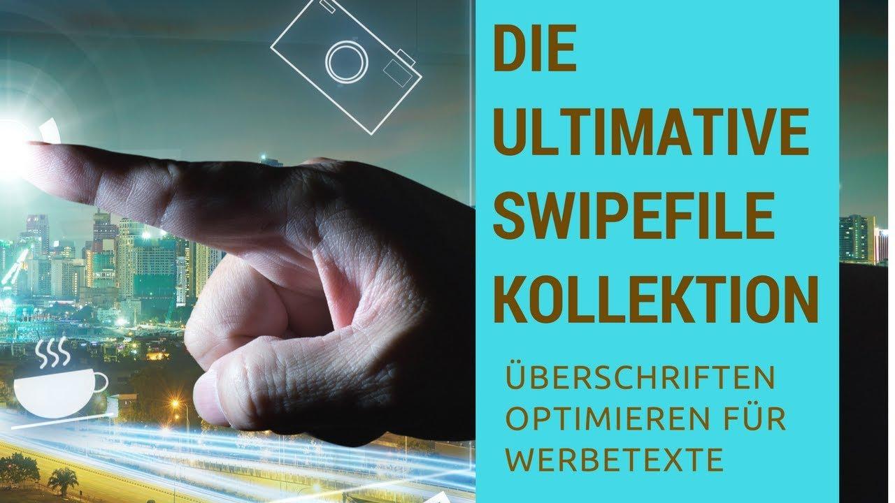 Swipefiles Swipe Files Mario Burgard Werbetexte Uberschriften Gestalten Jessica Gaiss Jessi