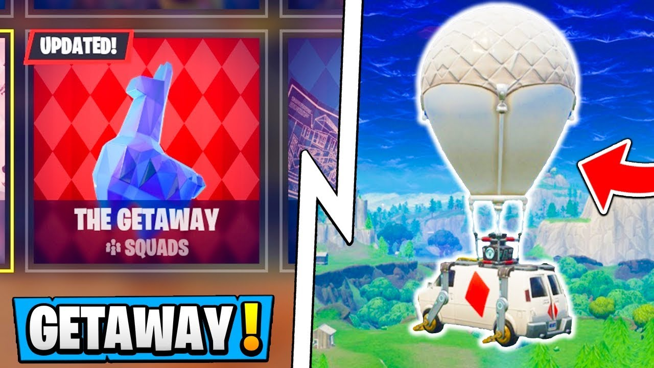 New Fortnite Getaway Ltm Gameplay High Stakes Event