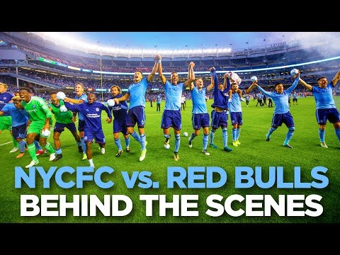 BEHIND THE SCENES | NYCFC vs. Red Bulls | 08.06.17