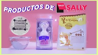 Probando Productos de SALLY BEAUTY : SKINCARE (Face Secrets/Mascarillas Coreanas)