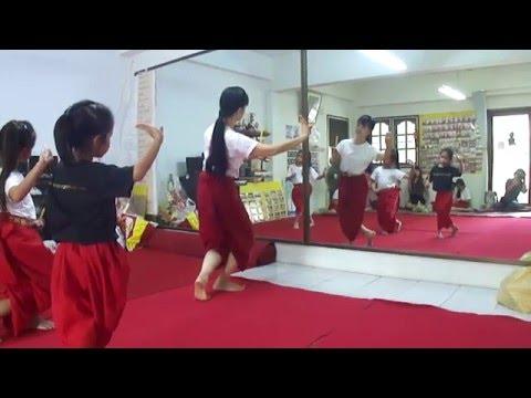 รำเชิญพระขวัญ(เด็ก) - บ้านรำไทย ดอนเมือง