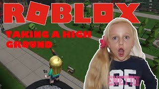 Roblox. Infection Inc. 2. Taking a High Ground