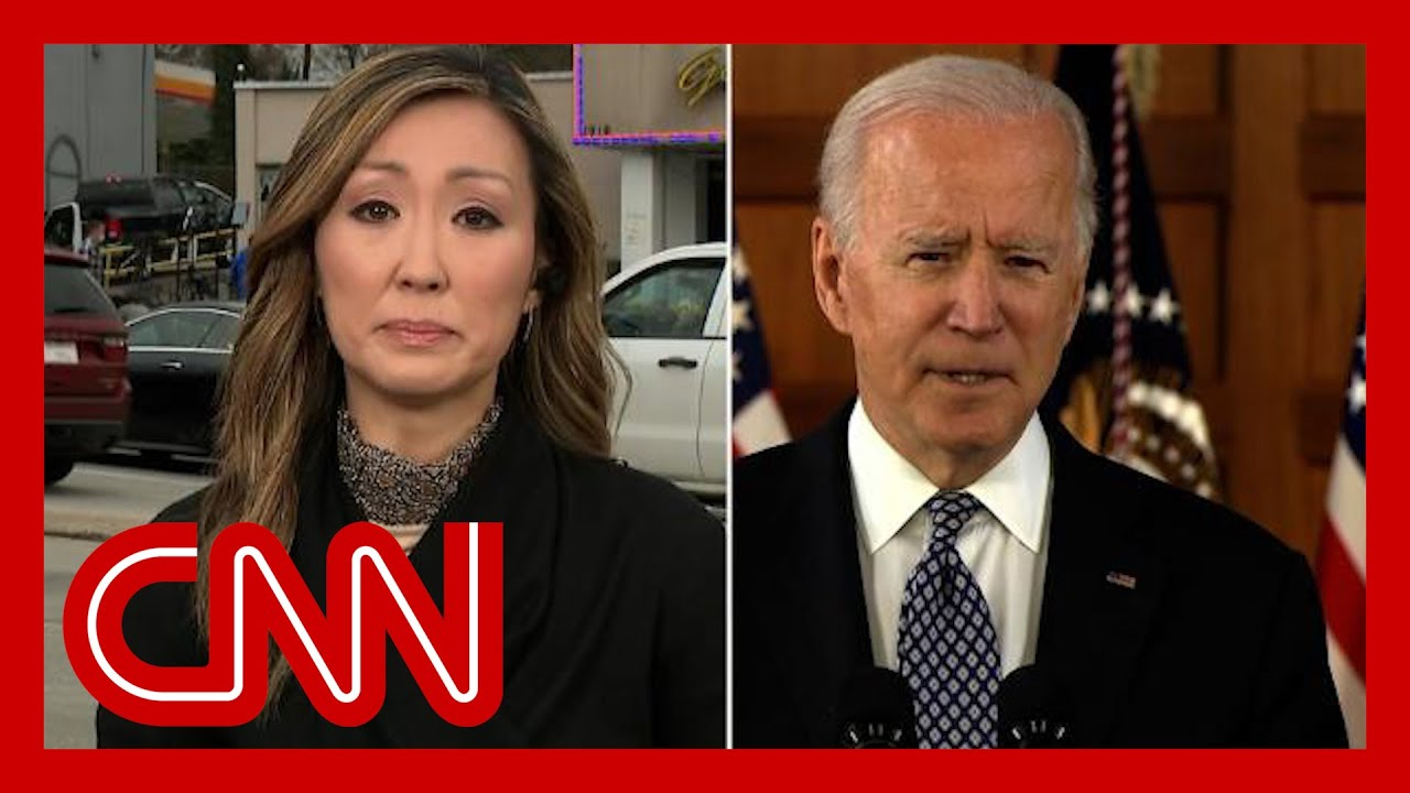 CNN's Amara Walker gets emotional after Biden speech