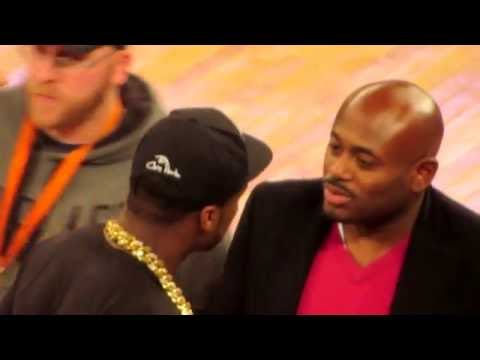 [OFFICIAL VIDEO] 50 CENT BEEF with STEVE STOUT and POWER CAST @ KNICKS Warriors game