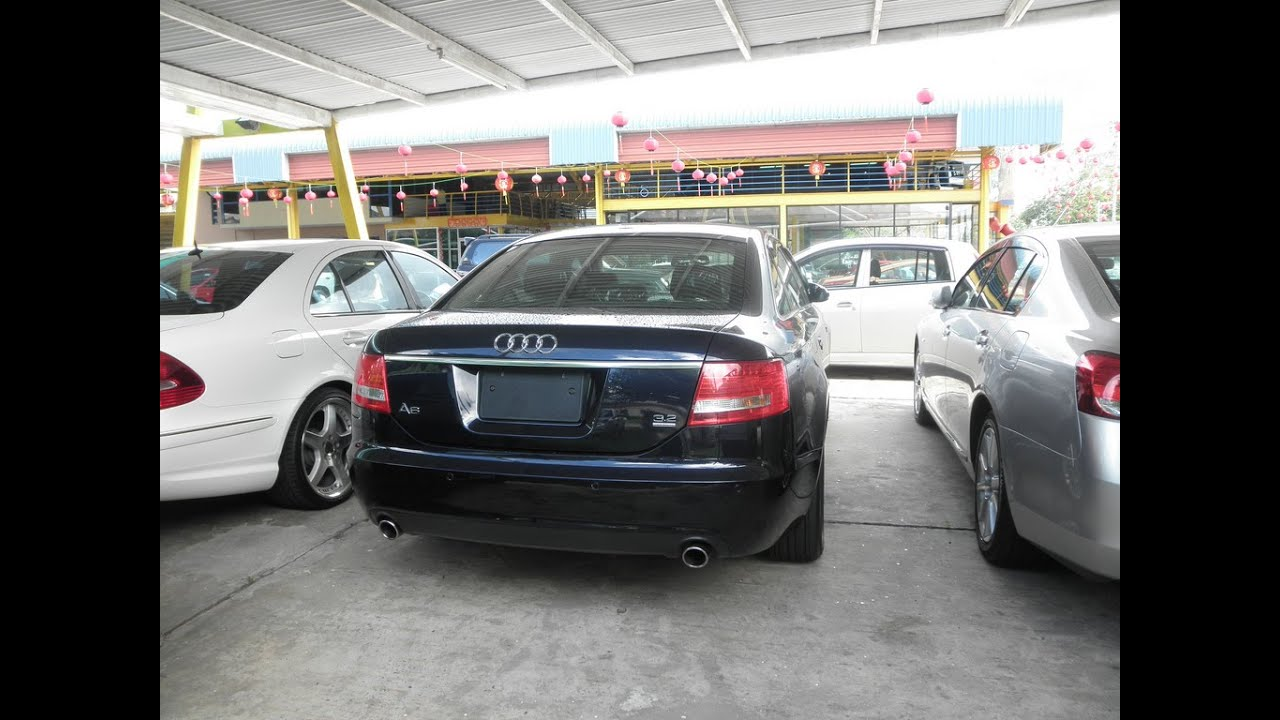 Best audi a6 exhaust sounds. loud accelerations and revs.   youtube