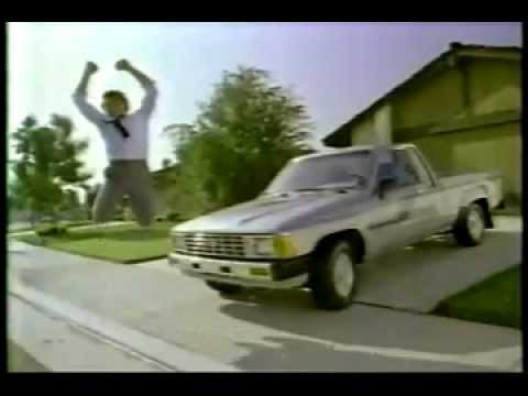Vintage 80 S Oh What A Feeling Toyota Commercial 1 W Upside Down Cars You
