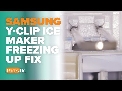 Y-Clip Kit - Fix ice buildup in your Samsung ice maker