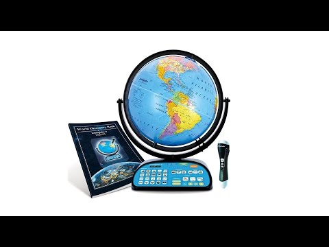 1-World Globes & Maps - Intelliglobe II by Replogle