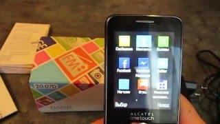 1 часть Обзора Alcatel One Touch 2007D(В этой части обзора вы увидите комплектацию, настройки профилей и контактов телефона Alcatel One Touch 2007D., 2016-01-13T19:25:22.000Z)