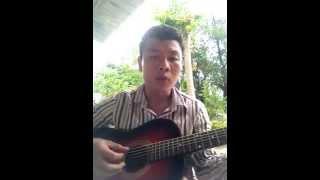 Bằng Lăng Tím (Guitar điệu slow hướng dẫn cho người mới bắt đầu đơn giản nhất )cover by Quang Lực.