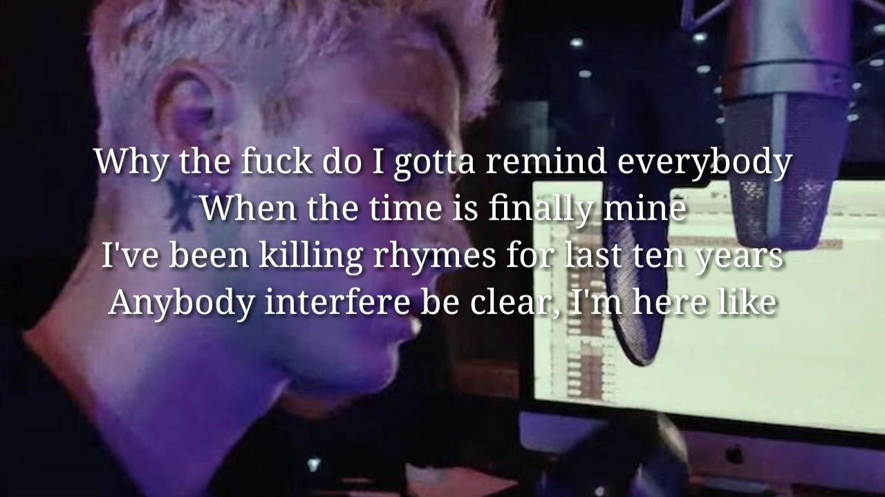 Machine Gun Kelly - Breaking News 2 ( lyrics ) - YouTube