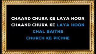 Chand Chura Ke Laaya Hoon - Karaoke (With Female Voice) - Devta - Kishore Kumar & Lata Mangeshkar