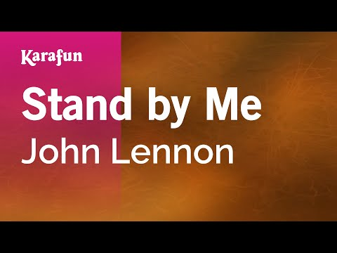 Karaoke Stand By Me - John Lennon *