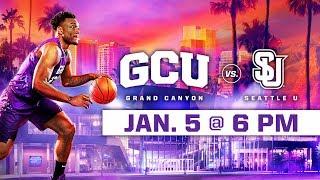 GCU Men's Basketball vs. Seattle U Jan 5, 2019