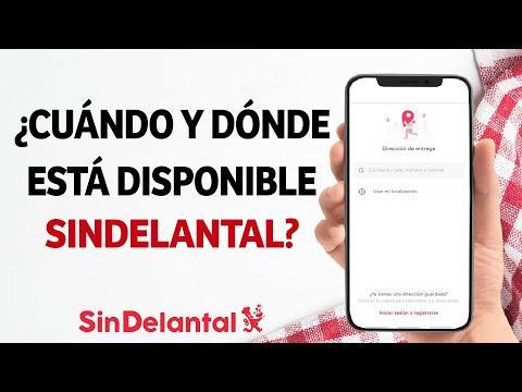 ¿Cuándo y Dónde está Disponible SinDelantal? - Países y Ciudades Donde Reparte SinDelantal