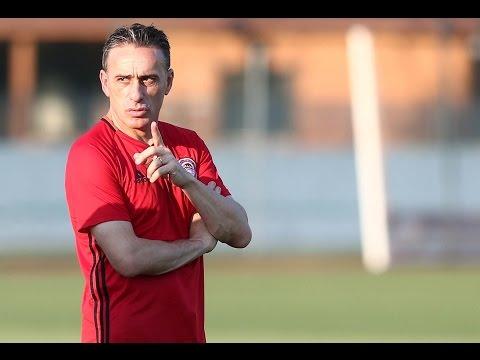 Προπόνηση υπό τις οδηγίες του Πάουλο Μπέντο / Training session under Paulo Bento