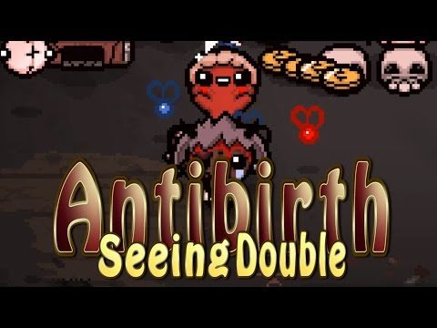 ANTIBIRTH! SEEING DOUBLE challenge | Rune of Othala unlocked | The Binding of Isaac: Antibirth Mod