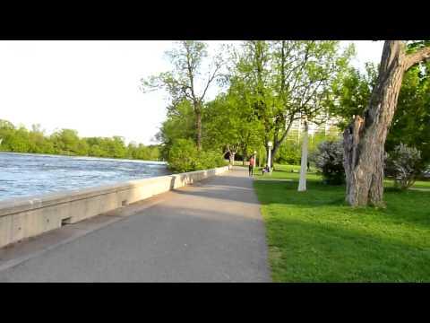 Walking through Strathcona Park, Ottawa (bellycam Part Two).