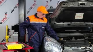 Jak vyměnit vzduchový filtr motoru na FIAT DOBLO 2 [Návod]