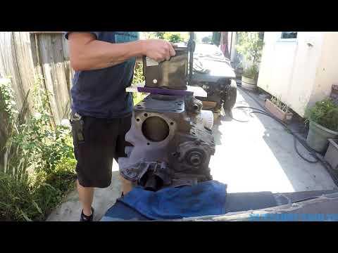 How to DIY resurfacing cast iron engine block