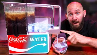 This Turns COKE Into WATER! Testing 7 Futuristic Tech Gadgets!