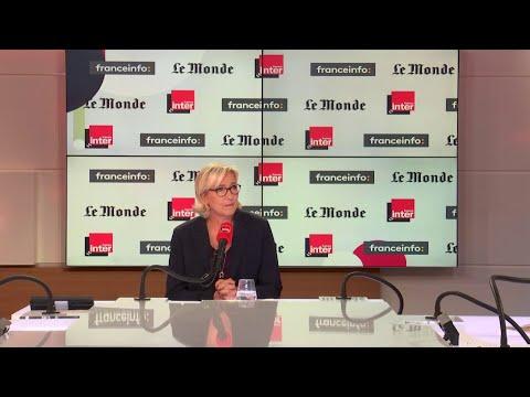 Marine Le Pen invitée de Questions politiques