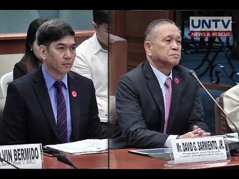 ALMC at NBI, iniimbestigahan na ang Luzon Dev't Bank kaugnay ng umano'y tagong-yaman ni Bautista