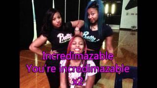 The OMG Girlz - Incredimazable (Lyric Video)