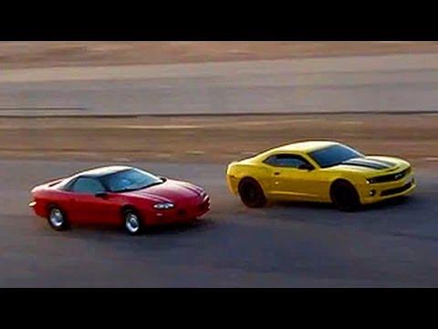2010 Cammed Camaro SS VS Camaro Z28 ( KSA )